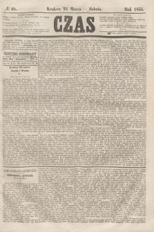 Czas. [R.8], № 68 (24 marca 1855)