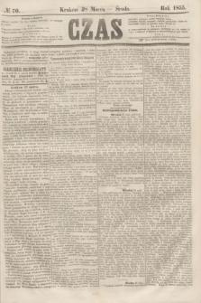 Czas. [R.8], № 70 (28 marca 1855)