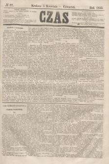 Czas. [R.8], № 77 (5 kwietnia 1855)