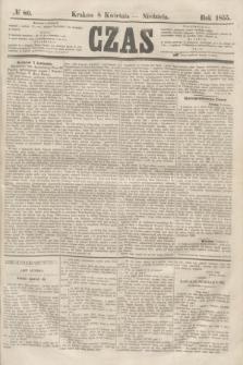 Czas. [R.8], № 80 (8 kwietnia 1855)