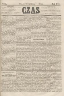 Czas. [R.8], № 93 (25 kwietnia 1855)