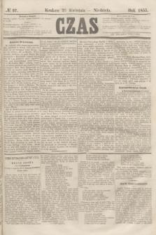 Czas. [R.8], № 97 (29 kwietnia 1855)