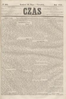 Czas. [R.8], № 105 (10 maja 1855)