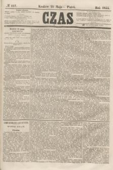Czas. [R.8], № 117 (25 maja 1855)