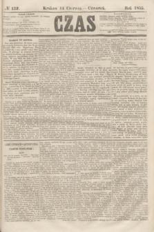 Czas. [R.8], № 132 (14 czerwca 1855) + dod.