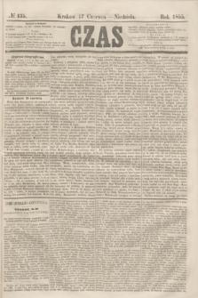 Czas. [R.8], № 135 (17 czerwca 1855)