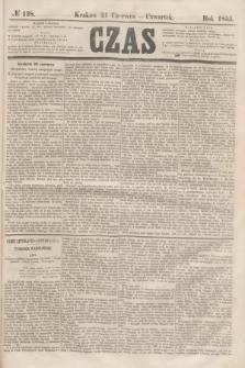 Czas. [R.8], № 138 (21 czerwca 1855)