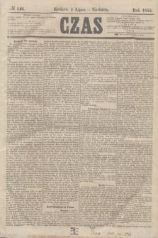 Czas. [R.8], № 146 (1 lipca 1855) + dod.