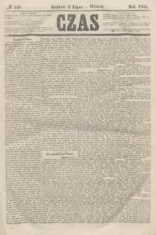 Czas. [R.8], № 147 (3 lipca 1855)