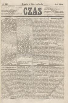 Czas. [R.8], № 148 (4 lipca 1855)