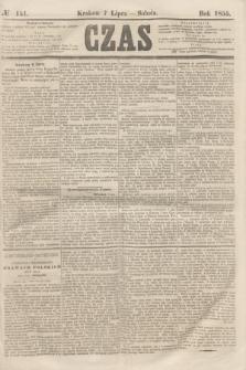 Czas. [R.8], № 151 (7 lipca 1855)
