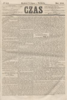 Czas. [R.8], № 152 (8 lipca 1855) + dod.