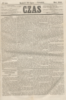 Czas. [R.8], № 155 (12 lipca 1855)