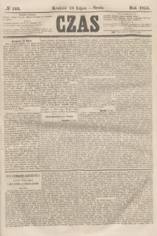 Czas. [R.8], № 160 (18 lipca 1855)