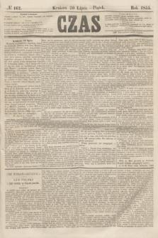Czas. [R.8], № 162 (20 lipca 1855)
