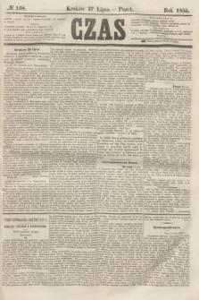 Czas. [R.8], № 168 (27 lipca 1855)