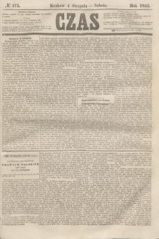 Czas. [R.8], № 175 (4 sierpnia 1855)