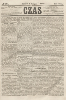 Czas. [R.8], № 178 (8 sierpnia 1855)