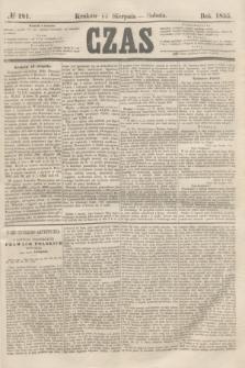 Czas. [R.8], № 181 (11 sierpnia 1855)