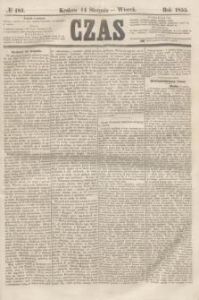 Czas. [R.8], № 183 (14 sierpnia 1855)