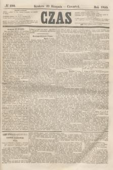 Czas. [R.8], № 190 (23 sierpnia 1855)