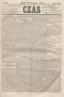 Czas. [R.8], № 195 (29 sierpnia 1855)