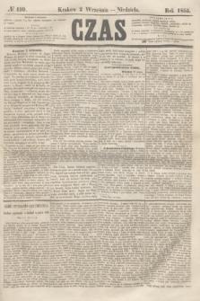 Czas. [R.8], № 199 (2 września 1855)