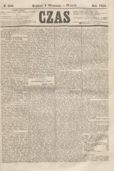 Czas. [R.8], № 200 (4 września 1855)