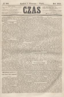 Czas. [R.8], № 203 (7 września 1855) + dod.