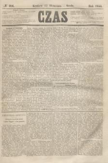 Czas. [R.8], № 206 (12 września 1855)