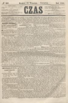 Czas. [R.8], № 207 (13 września 1855)