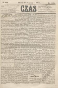 Czas. [R.8], № 209 (15 września 1855)