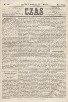 Czas. [R.8], № 226 (5 października 1855)