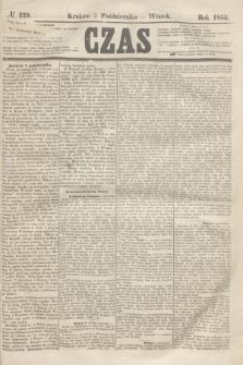Czas. [R.8], № 229 (9 października 1855)