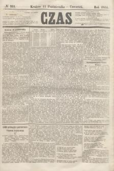 Czas. [R.8], № 231 (11 października 1855)