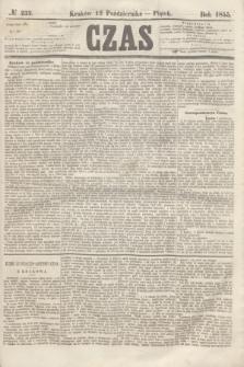 Czas. [R.8], № 232 (12 października 1855)