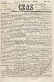 Czas. [R.8], № 236 (17 października 1855)