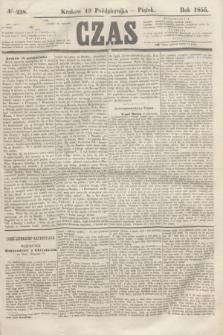 Czas. [R.8], № 238 (19 października 1855)
