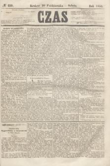 Czas. [R.8], № 239 (20 października 1855)