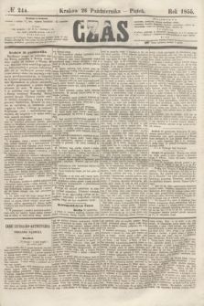 Czas. [R.8], № 244 (26 października 1855) + dod.