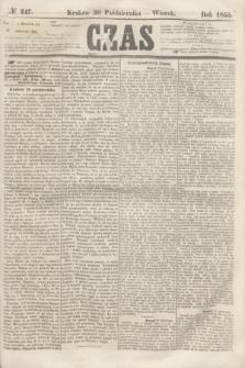 Czas. [R.8], № 247 (30 października 1855)
