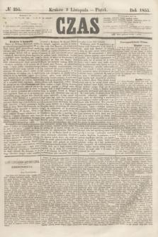 Czas. [R.8], № 255 (9 listopada 1855)