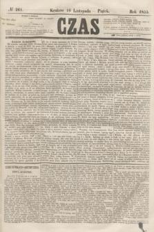 Czas. [R.8], № 261 (16 listopada 1855)