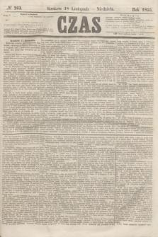 Czas. [R.8], № 263 (18 listopada 1855) + dod.