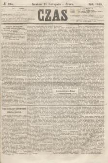 Czas. [R.8], № 265 (21 listopada 1855)