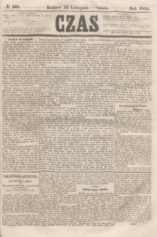 Czas. [R.8], № 268 (24 listopada 1855)