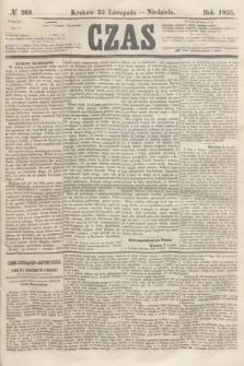 Czas. [R.8], № 269 (25 listopada 1855) + dod.