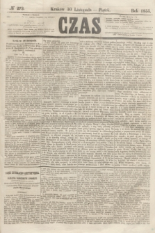 Czas. [R.8], № 273 (30 listopada 1855)