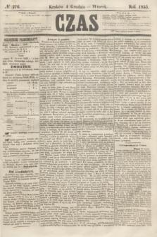 Czas. [R.8], № 276 (4 grudnia 1855)