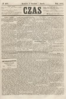 Czas. [R.8], № 277 (5 grudnia 1855)